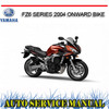 Thumbnail YAMAHA FZ6 SERIES 2004+ BIKE WORKSHOP REPAIR SERVICE MANUAL