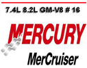 Thumbnail MERCURY MERCRUISER 7.4L 8.2L GM-V8  16 SERVICE REPAIR MANUAL