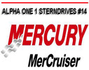 Thumbnail MERCURY MERCRUISER ALPHA ONE 1 # 14 SERVICE REPAIR MANUAL
