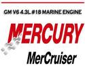 Thumbnail MERCURY MERCRUISER GM V6 4.3L #18 WORKSHOP SERVICE MANUAL