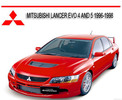 Thumbnail MITSUBISHI LANCER EVO 4 & 5 1996-1998 REPAIR SERVICE MANUAL