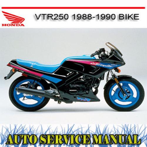 honda vtr250 1988 1990 bike workshop repair service manual downlo rh tradebit com 2006 honda vtr 250 service manual 1999 honda vtr 250 service manual