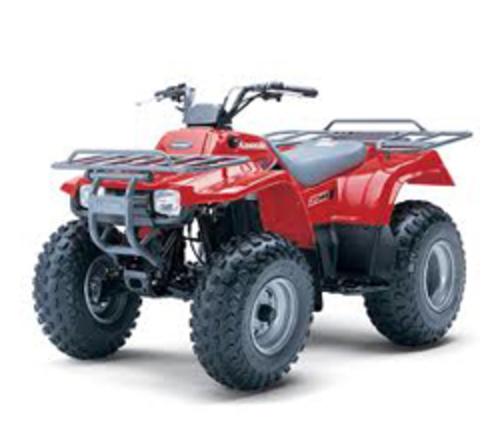 Pay for KAWASAKI KLF250 KLF300 WORKHORSE ATV WORKSHOP SERVICE MANUAL