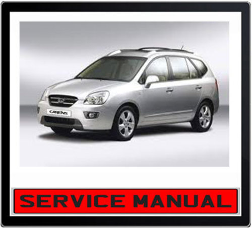 Kia Carens 2002-2006 Workshop Repair Service Manual