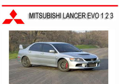 mitsubishi lancer evo 1 2 3 1992 1995 repair service manual downl rh tradebit com Next Lancer Evo Lancer Evo 8