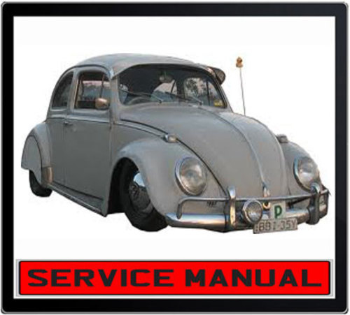 Pay for VW BEETLE 1200 TYPE 1961-1965 WORKSHOP SERVICE MANUAL