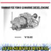 Thumbnail YANMAR YSE YSM 8 12 MARINE DIESEL ENGINE WORKSHOP MANUAL