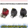 Thumbnail BRIGGS & STRATTON SINGLE CYLINDER ENGINE WORKSHOP MANUAL