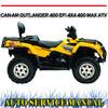 Thumbnail CAN AM CAN-AM OUTLANDER 400 EFI 4X4 MAX ATV WORKSHOP MANUAL
