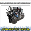 Thumbnail MACK AC-300 AC-400 EGR ASET DIESEL ENGINE WORKSHOP MANUAL