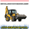Thumbnail NEW HOLLAND B110 B115 BACKHOE LOADER WORKSHOP SERVICE MANUAL