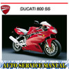 Thumbnail DUCATI 800 SS BIKE WORKSHOP REPAIR SERVICE MANUAL