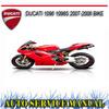 Thumbnail DUCATI 1098 1098S 2007-2008 BIKE REPAIR SERVICE MANUAL