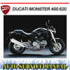 Thumbnail DUCATI MONSTER 400 620 BIKE REPAIR SERVICE MANUAL