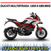 Thumbnail DUCATI MULTISTRADA 1200 S ABS BIKE WORKSHOP SERVICE MANUAL