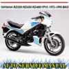 Thumbnail YAMAHA RD250 RD350 RD400 YPVS 1972-1990 BIKE WORKSHOP MANUAL
