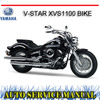 Thumbnail YAMAHA V-STAR XVS1100 BIKE REPAIR SERVICE MANUAL
