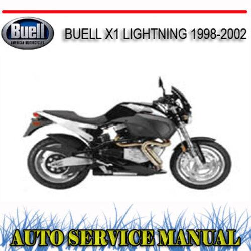 Free Buell Lightning X1 1999 Service Repair Manual border=