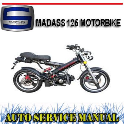 sachs madass 125 motorbike factory workshop service manual downlo rh tradebit com GPX 250 Factory Service Manual honda motorcycle factory service manual