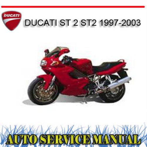 Pay for DUCATI ST 2 ST2 1997-2003 BIKE WORKSHOP REPAIR MANUAL
