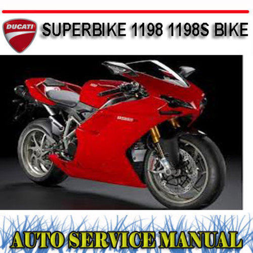 ducati superbike 1198 1198s bike workshop service manual download rh tradebit com ducati 1198 service manual download ducati 1198 repair manual