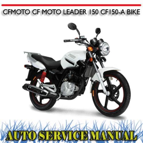CFMOTO CF MOTO LEADER 150 CF150-A BIKE WORKSHOP MANUAL