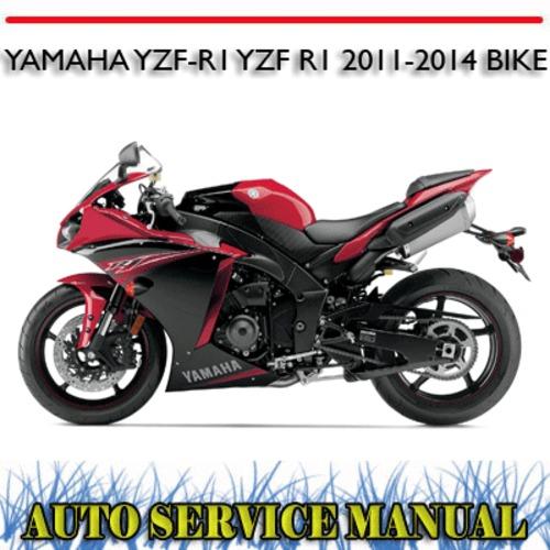 yamaha yzf r1 yzf r1 2011 2014 bike workshop service manual downl rh tradebit com 2014 R1 2011 yamaha r1 owners manual pdf