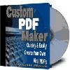 Thumbnail Custom PDF Maker Software - MASTER RESALE RIGHTS
