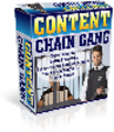 *ALL NEW!*  Content Chain Gang - MASTER RESALE RIGHTS INCLUDED!