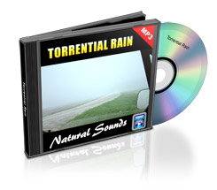 Thumbnail Natural Sounds: Torrential Rains Mp3 Audio with Master Resale Rights