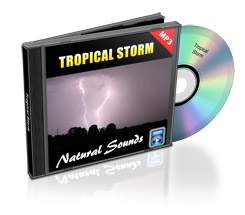 Thumbnail Natural Sounds: Tropical Storm Mp3 Audio with Master Resale Rights