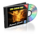 Thumbnail Natural Sounds: Log Cabin Fire Mp3 Audio with Master Resale Rights