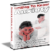 Getting To Know Anxiety - MASTER RESALE RIGHTS