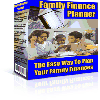 Thumbnail Family Finance Planner - MASTER RESALE RIGHTS