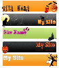 Thumbnail *ALL NEW!*  13 Halloween Template Header Web 2.0 Style Package - MASTER RESALE RIGHTS INCLUDED!