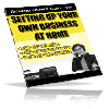 Thumbnail Setting Up Your Own Business At Home - MASTER RESALE RIGHTS