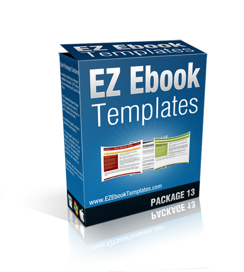 Pay for EZ Ebook Template Package #13 - MRR + Saleskit Included