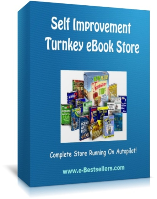 Pay for Self Improvement Turnkey eBook Store - Automated Store