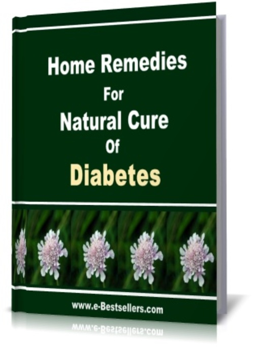 Pay for Home Remedies for Natural Cure of Diabetes