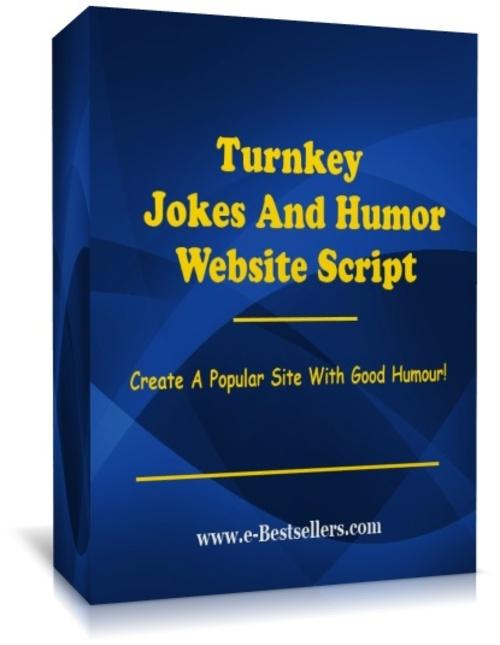 Pay for  Turnkey Jokes And Humor Website Script