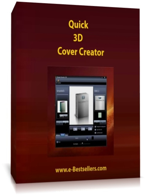 Quick 3d Cover Creator Create Ecovers In Under 3 Minutes