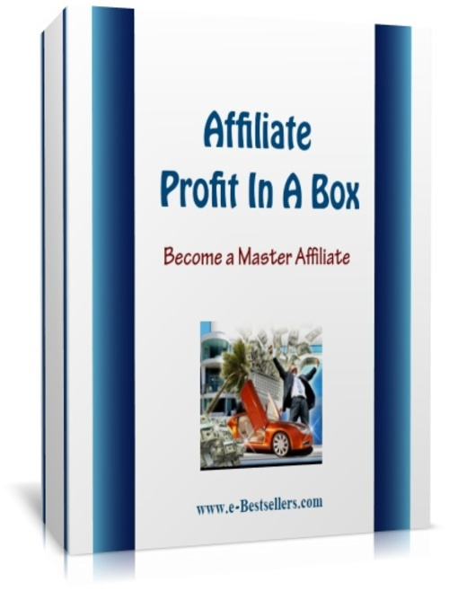 Pay for Affiliate Profit In A Box: Become A Master Affiliate