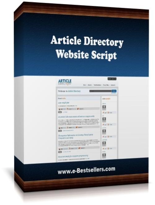 Pay for Article Directory Website Script