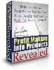 Thumbnail Profit Making Info Products Revealed
