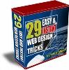 Thumbnail 29 Easy & Instant Web Design Tricks V. 1