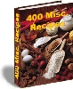 Thumbnail 400 miscellaneous recipes