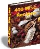 Thumbnail 400 miscellaneous recipes