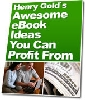 Thumbnail Awesome Ebook Ideas You Can Profit From!