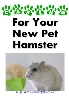 Thumbnail Caring For Your New Pet Hamster