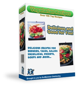 Pay for 125 Vegetarian recipes